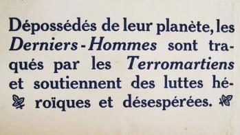 Joncquel, Octave / Varlet, Théo. L'agonie de la Terra. Amiens : Edgar Malfère, 1922. Bandeau d'annonce.