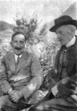 Stefan Zweig et Romain Rolland. Villeneuve, Suiza, 1933. Source: http://gizra.github.io/CDL-ES/pages/EC3B8D22-81D8-8D73-2AFD-F263C976B714/