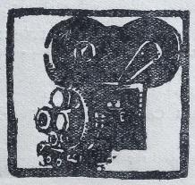 Le rouge et le noir. Cahier spécial sur le cinéma. Henri Lamblin directeur. Paris: Editions le rouge et le noir, juillet 1928. Cul-de-lampe couverture arrière.