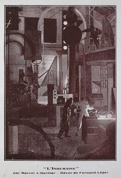 """""""L'Inhumaine"""", réalisé par Marcel l'Herbier. Le rouge et le noir. Cahier spécial sur le cinéma. Henri Lamblin directeur. Paris: Editions le rouge et le noir, juillet 1928: 88-89."""